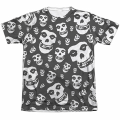 Misfits Shirt Fiends All Over Poly/Cotton Sublimation T-Shirt