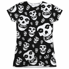 Misfits Shirt Fiends All Over Sublimation Juniors T-Shirt Front/Back Print