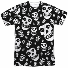 Misfits Shirt Fiends All Over Sublimation T-Shirt Front/Back Print