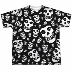 Misfits Shirt Fiends All Over Sublimation Youth T-Shirt