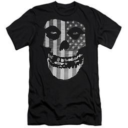 Misfits Slim Fit Shirt Fiend Flag Black T-Shirt