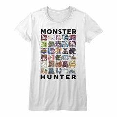 Monster Hunter Shirt Juniors Let's Hunt White T-Shirt