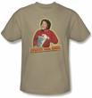 Mork and Mindy Shirt Mork Iron On Sand T-Shirt