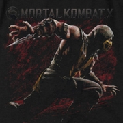 Mortal Kombat Scorpion Lunge Shirts