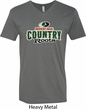 Mossy Oak Country Roots Mens V-Neck Shirt