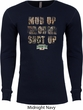 Mossy Oak Mud Up or Shut Up Long Sleeve Thermal Shirt