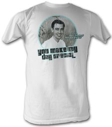 Mr. Mister Rogers T-shirt Special Day Adult White Tee Shirt