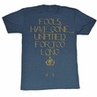 Mr. T Shirt It Ends Now Adult Blue Heather Tee T-Shirt
