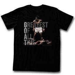 Muhammad Ali Shirt Greatest Of All Time Black T-Shirt