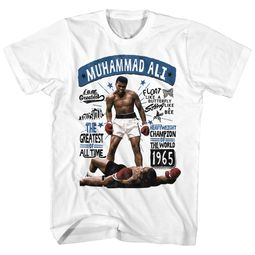 Muhammad Ali Shirt Heavyweight Champion White T-Shirt