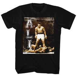 Muhammad Ali Shirt Holler At Your Boy Black T-Shirt