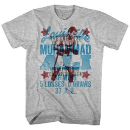 Muhammad Ali Shirt Overlay Athletic Heather T-Shirt