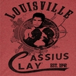 Muhammad Ali Shirt The Greatest Adult Heather Red Tee T-Shirt