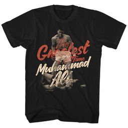 Muhammad Ali Shirt The Greatest Black T-Shirt