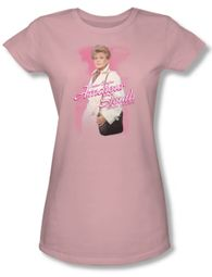Murder She Wrote Shirt Juniors Amateur Sleuth Pink Tee T-Shirt