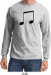 Music 8th Note Long Sleeve Shirt