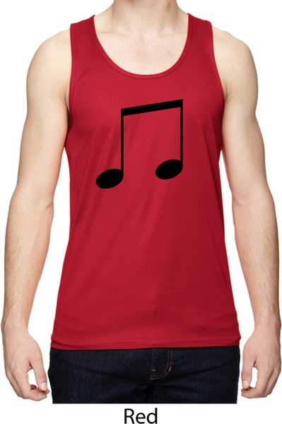 a5f0cf61282ea Music 8th Note Mens Moisture Wicking Tanktop - Music 8th Note Mens ...