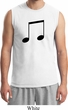 Music 8th Note Mens Muscle Shirt