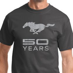 Mustang 50 Years Mens Ford Mustang Shirts