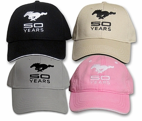 Mustang 50th Anniversary Hat - Special Edition