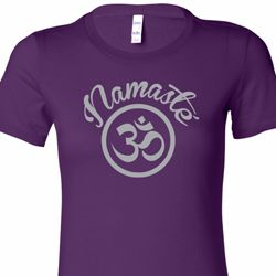 Namaste Om Ladies Yoga Shirts