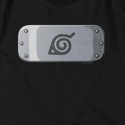 Naruto Shippuden Leaves Headband Logo Shirts
