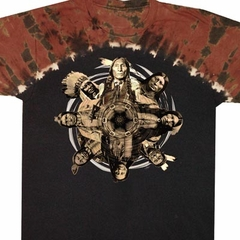 Native American Shirt Native Circle Tribes Tie Dye Tee