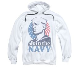Navy Hoodie Navy Join The Navy White Sweatshirt Hoody
