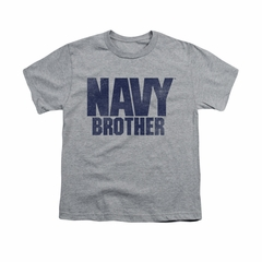 Navy Shirt Kids Navy Brother Athletic Heather T-Shirt