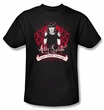 NCIS Adult T-shirt - Goth Crime Fighter Adult Black Tee Shirt