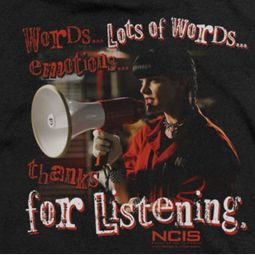 NCIS For Listening Shirts