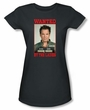 NCIS Juniors T-shirt - Wanted Anthony DiNozzo Charcoal Tee Shirt