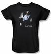 NCIS Ladies T-shirt - Gibbs Ponders Women's Black Tee Shirt
