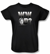 NCIS Ladies T-shirt - What Would Gibb's Do Women's Black Tee Shirt