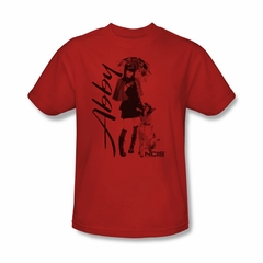 NCIS Shirt Abby and K9 Red T-Shirt