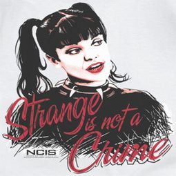 NCIS Strange Is Not A Crime Shirts