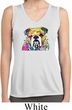 Neon Bulldog Ladies Sleeveless Moisture Wicking Shirt
