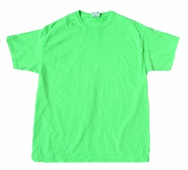 Neon Green Bright Colorful Youth Kids Unisex T-Shirt Tee Shirt