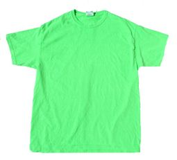 Neon Green Bright Colorful Adult Unisex T-Shirt Tee Shirt