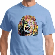 Neon Marilyn Monroe Mens Shirts