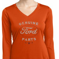 New Genuine Ford Parts Ladies Dry Wicking Long Sleeve Shirt
