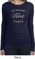 New Genuine Ford Parts Ladies Long Sleeve Shirt