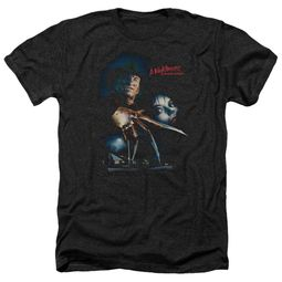 Nightmare On Elm Street Shirt Poster Heather Black T-Shirt