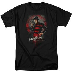 Nightmare On Elm Street Shirt Springwood Slasher Black T-Shirt