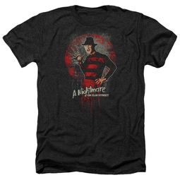 Nightmare On Elm Street Shirt Springwood Slasher Heather Black T-Shirt