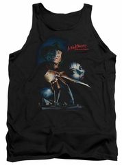 Nightmare On Elm Street Tank Top Poster Black Tanktop