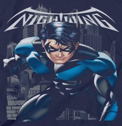 Nightwing DC Comics A Legacy Navy Shirts