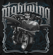 Nightwing DC Comics Biker Shirts