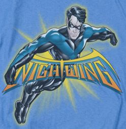 Nightwing DC Comics Burst Shirts