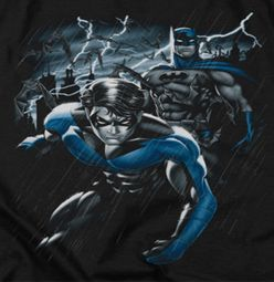 Nightwing DC Comics Dynamic Duo Shirts